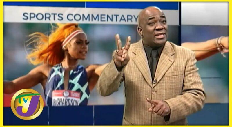 Sha'carri Richardson   TVJ Sports Commentary 1