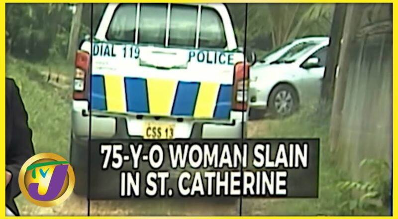 75 Yr Old Woman Slain in St. Catherine Jamaica   TVJ News 1