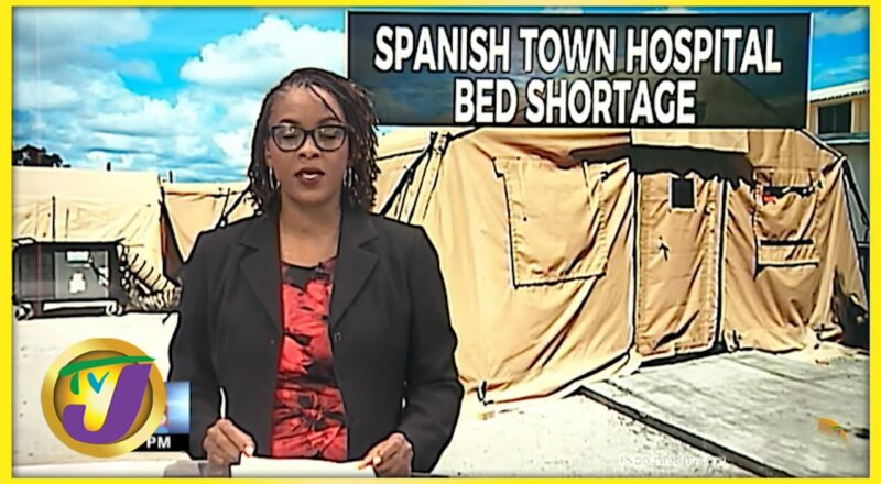 Jamaica's Covid Field Hospitals: Progress Report   TVJ News - Sept 10 2021 1