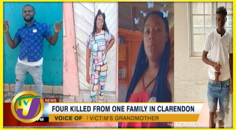 4 Killed from one Family in Clarendon Jamaica | TVJ News 1
