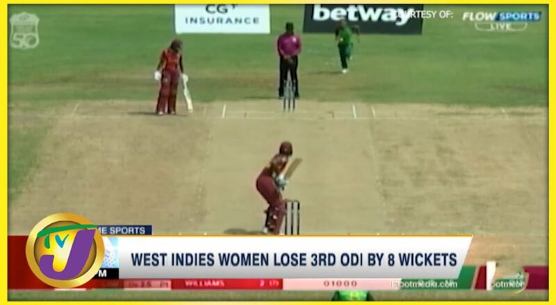 West Indies Women Lose 3rd ODI by 8 Wickets 1
