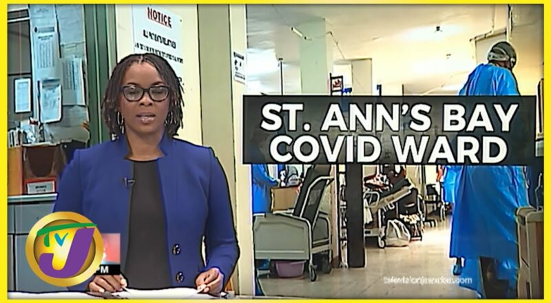 Inside the St. Ann's Bay Hospital   TVJ News 1