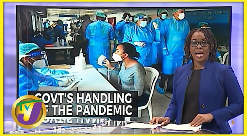 Jamaican Gov't Handling of the Pandemic Decline Significantly   TVJ News 1