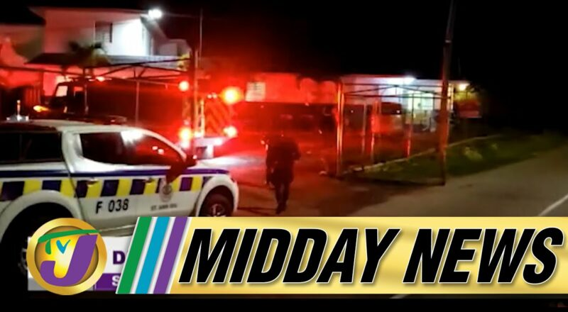 Lockup Set On Fire | Crime Curse in Jamaica | TVJ Midday News 1