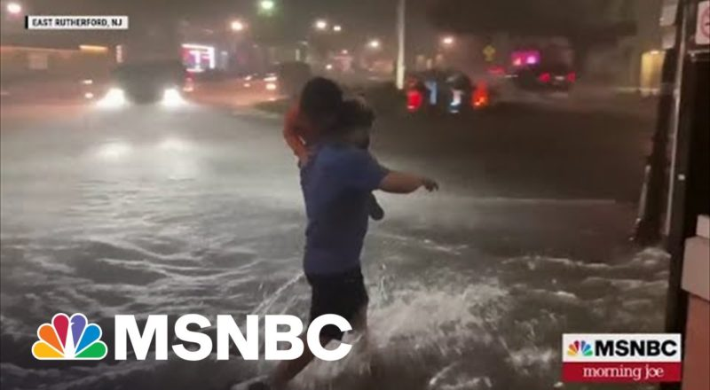 Ida Triggers Flash Flooding Across The Northeast 8