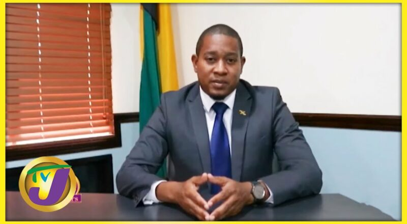 Jamaica Labour Party MP - Floyd Green   TVJ All Angles - Sept 15 2021 1