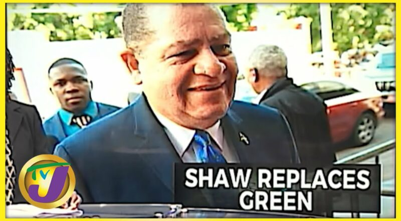 Shaw Replaces Green | TVJ News - Sept 15 2021 1