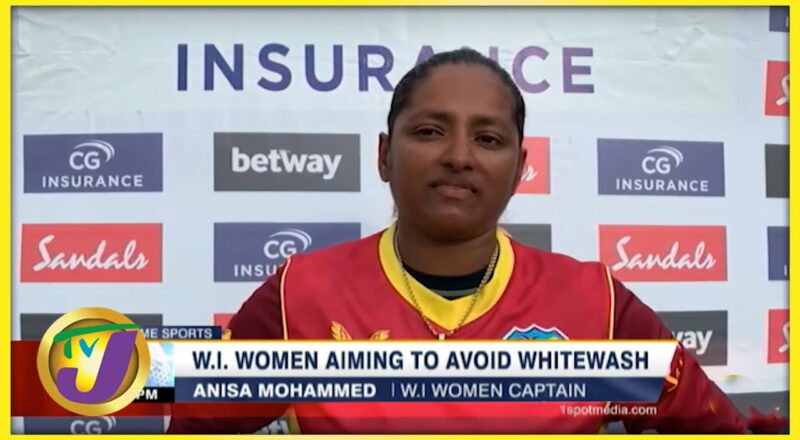W.I Women Aiming to Avoid Whitewash - Sept 15 2021 1