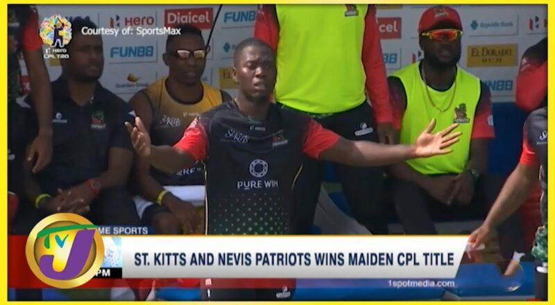 St. Kitts & Nevis Patriots Wins 2021 CPL - Sept 15 2021 1