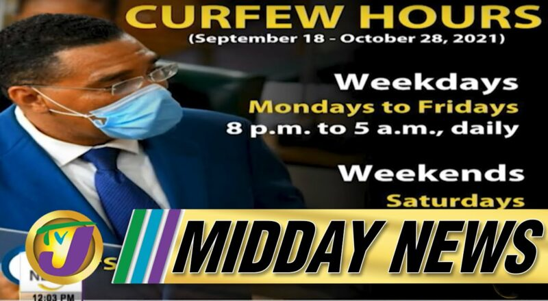 Revised Covid Measures in Jamaica   Covid Death Backlog Concerns   TVJ Midday News 1