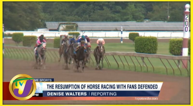 The Return of Horse Racing with Fans Defended - Sept 16 2021 1
