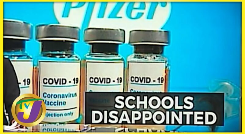 Pfizer Delay Disappoints Some Schools   TVJ News - Sept 17 2021 1