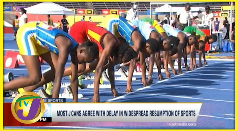 Most Jamaicans Agree with Delay in Widespread Resumption of Sports - Sept 18 2021 1