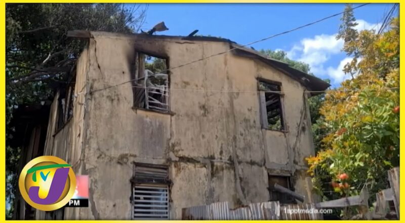 Bob Marley's Childhood House Destroyed by Fire in Jamaica | TVJ News - Sept 18 2021 1