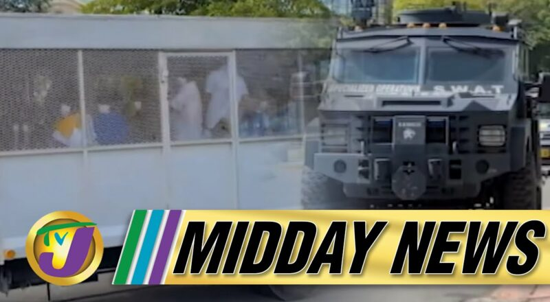 Alleged Clansman Gang Members Plead Not Guilty | Elevated Security for Trial | TVJ Midday News 1