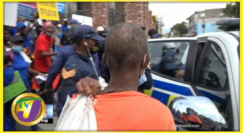 UIC President Arrested in Anti-Vax Protest in Kingston Jamaica | TVJ News - Sept 22 2021 1