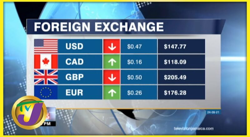 Jamaican Foreign Exchange Rate | TVJ Business Day - Sept 24 2021 1