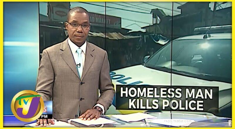 Man of Unsound Mind Kills Cop   TVJ News - Sept 24 2021 2
