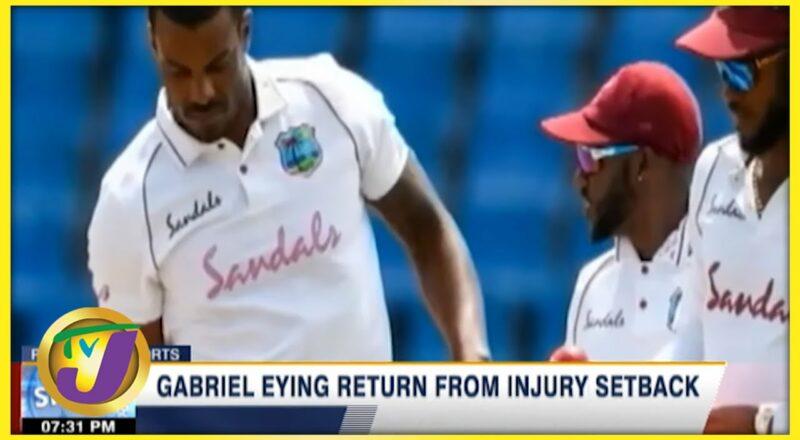 Gabriel Eyeing Return from Injury Setback - Sept 26 2021 1