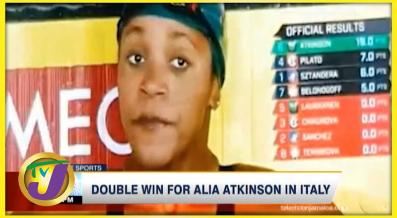 Double Win for Alia Atkinson in Italy - Sept 26 2021 2