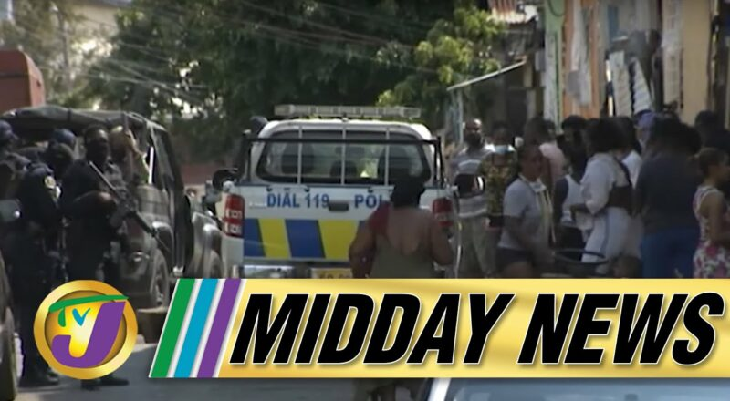 Missing American Tourist Found   Central Kingston Tense   TVJ Midday News - Sept 27 2021 2