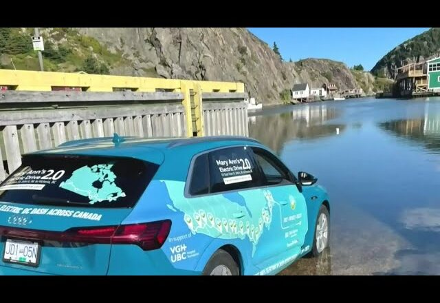 Electrifying journey: Cross-Canada drive in under 5 days 1