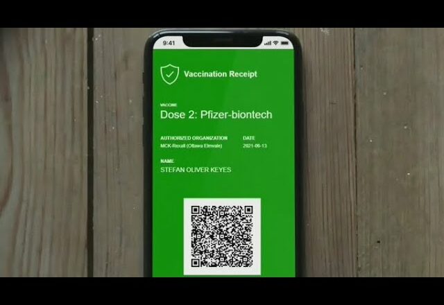 How to download the QR code for Ont. vaccine passport 6