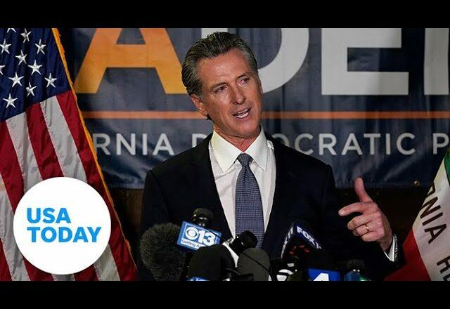 California Governor Gavin Newsom beats recall vote in California   USA TODAY 1