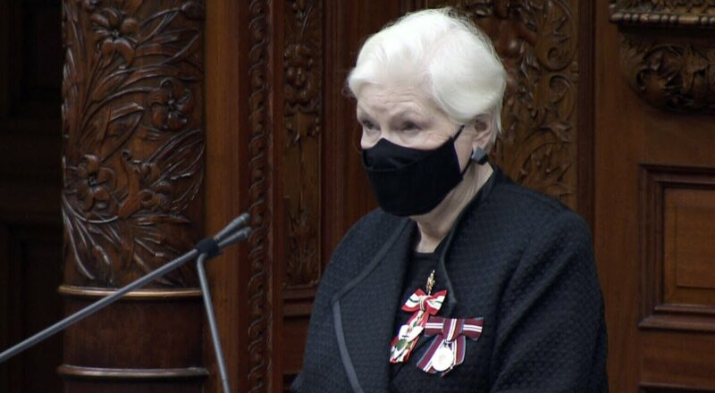 Ontario's lieutenant governor delivers Speech from the Throne 1