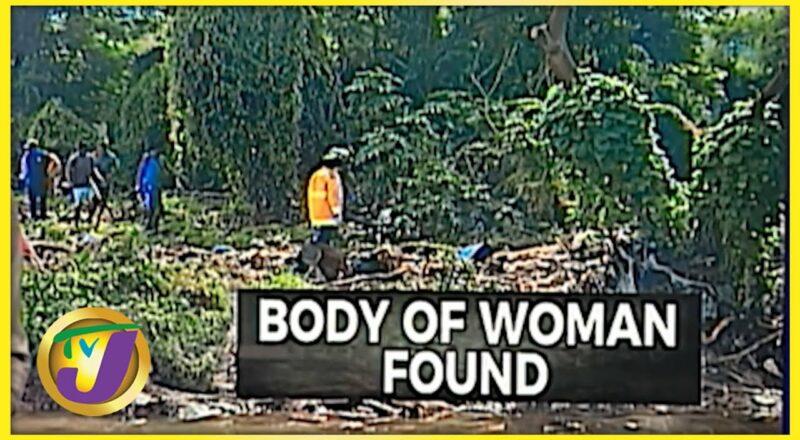Snr. Citizen's Body Found in Sandy Gully   TVJ News - Oct 1 2021 1
