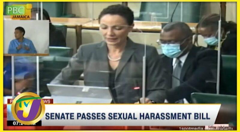 Senate Passes Sexual Harassment Bill | TVJ News - Oct 2 20221 1