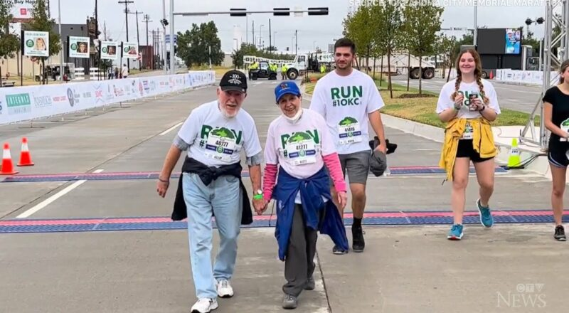 'Age is just a number': 100-year-old man and 92-year-old friend complete 5 km race 1