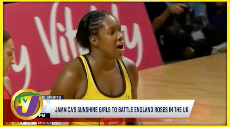 Jamaica's Sunshine Girls to Battle England Roses in the UK - Sept 22 2021 1