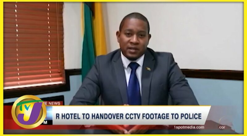 Hotel to Release CCTV Footage to Police   TVJ News - Oct 4 2021 1