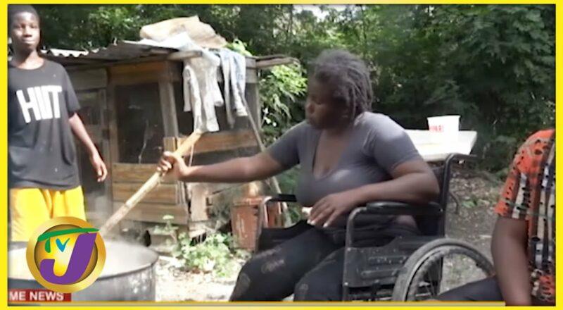 Single Mother Standing Tall Despite her Disabilities   TVJ News - Oct 4 2021 1