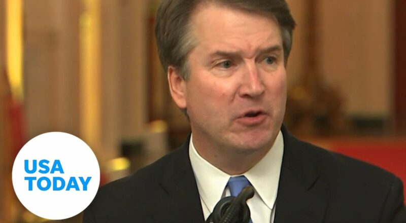 Supreme Court Justice Brett Kavanaugh tests positive for COVID-19 | USA TODAY 1