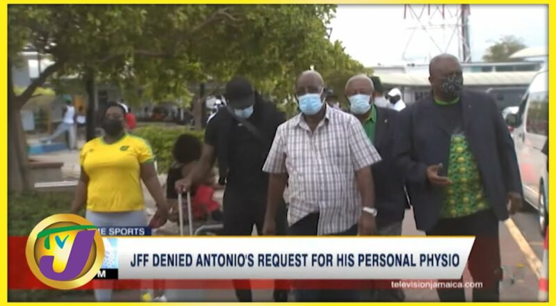 JFF Denied Antonio's Request for his Personal Physio - Oct 6 2021 1
