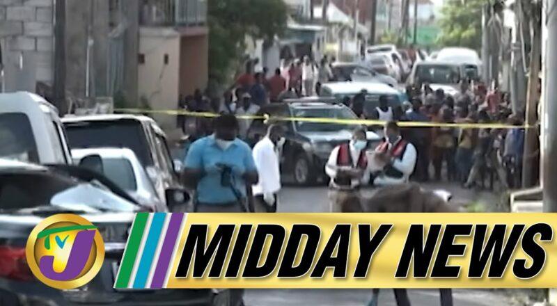5 Year Old Girl Shot & Killed   Mayhem in St. James   TVJ Midday News - Oct 7 2021 1