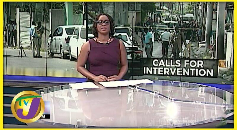 Man Shot in Montego Bay Jamaica | TVJ News - Oct 7 2021 1