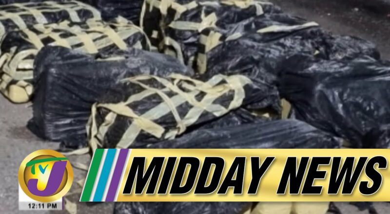 Major Drug Bust in Portland Jamaica | Jamaican Hospital in RED Zone | TVJ Midday News - Oct 8 2021 1