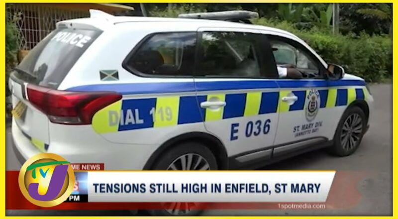 Tensions Still High in Enfield, St Mary after Shooting | TVJ News - Sept 23 2021 1