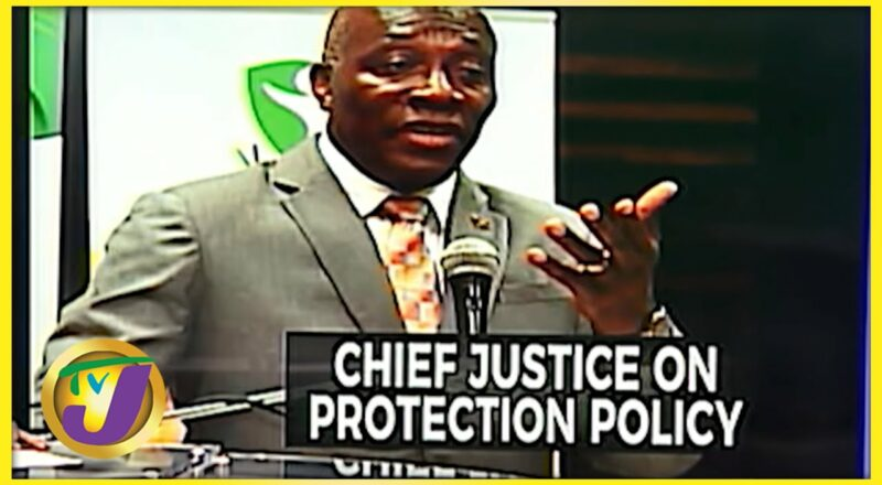 Chief Justice Raises Concern About Protection Policy | TVJ News - Oct 8 2021 1
