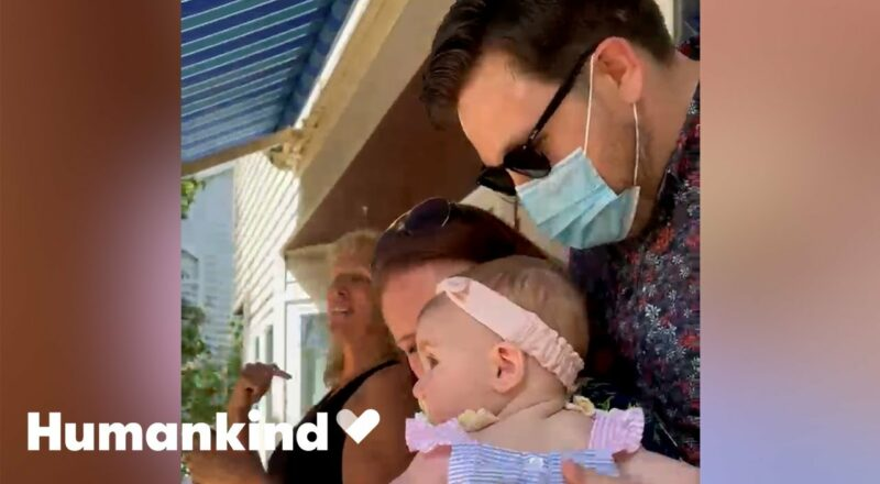 Family and friends learn to sign for baby girl | Humankind 1