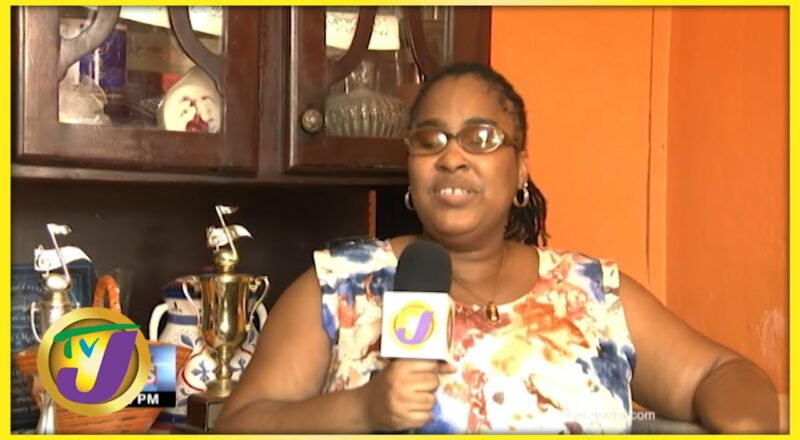 A Blind Woman With a Vision - Kimiela Candy Isaacs   TVJ News - Oct 11 2021 1