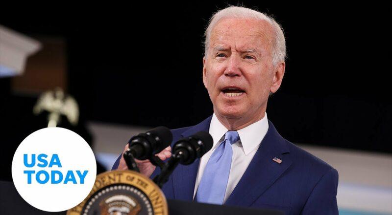 President Joe Biden remarks on global transportation supply chain bottlenecks | USA TODAY 1