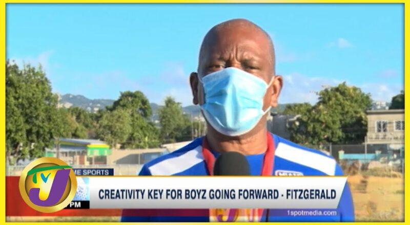 Creativity key for Boyz Going Forward - Fitzgerald - Oct 12 2021 1