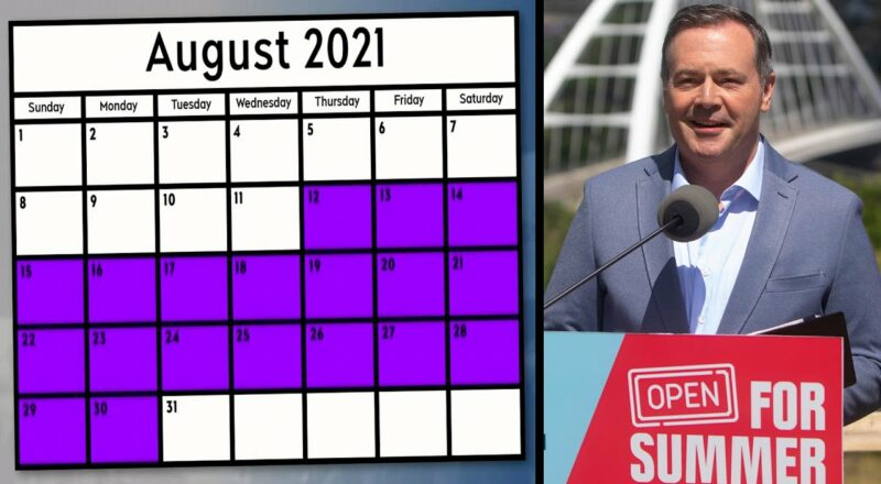 Where was Kenney? New documents shed light on his weeks-long summer vacation | COVID-19 in Alberta 3