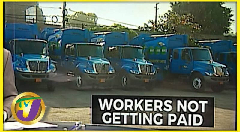 Garbage Collector Restive Over Pay Cut | TVJ News - Sept 24 2021 1