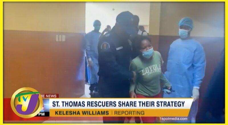St. Thomas Rescue Team Share Their Strategy   TVJ News 6