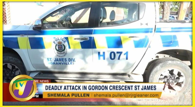 Deadly Attack in Gordon Crescent St. James   TVJ News - Sept 26 2021 1